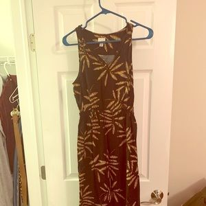 A New Day Maxi black patterned dress!